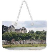 Chateau De Chaumont Stands Above The River Loire Weekender Tote Bag