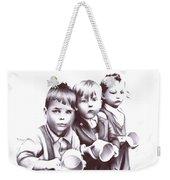 Children Should Not Need Food ... Weekender Tote Bag