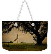 Church On The Plain Weekender Tote Bag