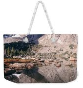 Cirque Of The Towers In Lonesome Lake   Weekender Tote Bag