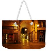 Clock Tower Venice Italy And The Path To Merceria Weekender Tote Bag