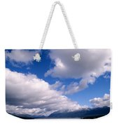 Clouds Over Lake Quinault Weekender Tote Bag