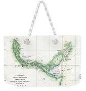 Coast Survey Chart Or Map Of The Savannah River Ans Savannah Georgia Weekender Tote Bag
