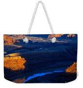 Colorado River Sunset Weekender Tote Bag
