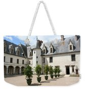 Courtyard Chateau Chaumont Weekender Tote Bag