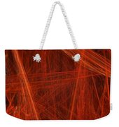 Dancing Flames 1 V - Panorama - Abstract - Fractal Art Weekender Tote Bag