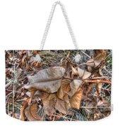 Dead Leaves Weekender Tote Bag