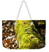 Dead Log With Moss Weekender Tote Bag
