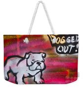 Dogged Out 1 Weekender Tote Bag