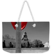 Mission San Juan Easter Cross Weekender Tote Bag