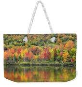 Echo Lake Fall Reflections Weekender Tote Bag
