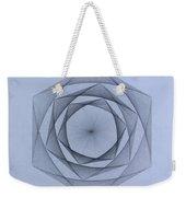Energy Spiral Weekender Tote Bag