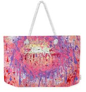 Rich Texture Abstract Painting Weekender Tote Bag