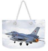 F16 Fighting Falcon Weekender Tote Bag