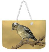 Female Chaffinch Weekender Tote Bag