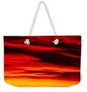 Fiery Furnace Sunset Weekender Tote Bag