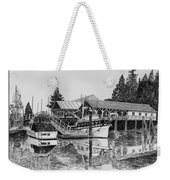 Net Shed Gig Harbor Weekender Tote Bag