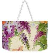 Flowering Butterfly Bush Weekender Tote Bag
