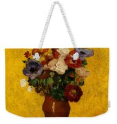 Flowers Weekender Tote Bag by Odilon Redon