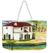 Fort Lauderdale Waterway Weekender Tote Bag