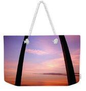 Gateway Arch Sunrise Weekender Tote Bag