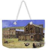 Ghost Town Of Bodie-california Weekender Tote Bag by Guido Borelli