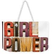 Girl Power Weekender Tote Bag