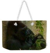 Gorilla Snacking Weekender Tote Bag