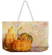 Gourd And Pumpkins II Weekender Tote Bag