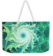 Green Magic Weekender Tote Bag