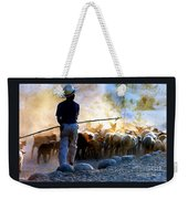 Herder Going Home In Mexico Weekender Tote Bag
