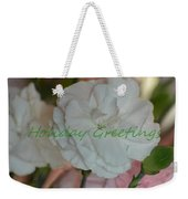 Holiday Greeting Card  Weekender Tote Bag