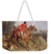 Hunting Scene Weekender Tote Bag
