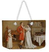 I Wish You Luck Weekender Tote Bag by George Goodwin Kilburne