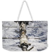 International Space Station Weekender Tote Bag by Anonymous