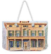 Italianate House Ny Weekender Tote Bag