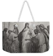 Jesus And His Disciples In The Corn Field Weekender Tote Bag