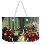Komondor Art Canvas Print - Sextet Weekender Tote Bag