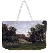 Landscape Near The Monastery Piedra. Aragon Weekender Tote Bag