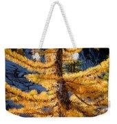 Larch Tree Closeup Weekender Tote Bag