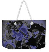 Leif Erickson And Cameron Mitchell  The High Chaparral Old Tucson Arizona 1969 Weekender Tote Bag
