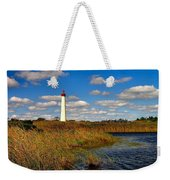 Lighthouse At The Water Weekender Tote Bag