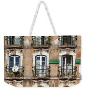 Lisbon - 18th Century Facade  Weekender Tote Bag