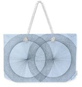 Magnetism Weekender Tote Bag by Jason Padgett