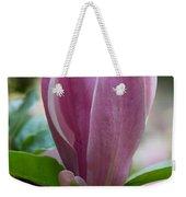 Magnolia Bud Weekender Tote Bag