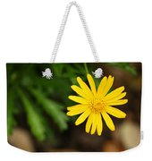 Marguerite Yellow Daisy Weekender Tote Bag