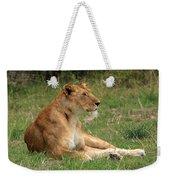 Masai Mara Lioness Weekender Tote Bag