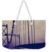 Me And The Rain Weekender Tote Bag