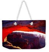 Mesa Arch Sunrise 2 Weekender Tote Bag