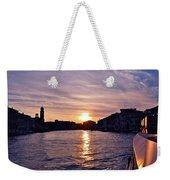 Mia Pervinca Murano Sunset  Weekender Tote Bag